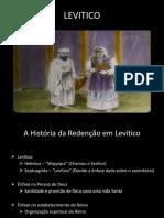 A História da Redenção em Levítico