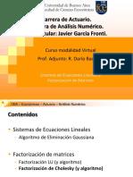 UBA.Econ.ANum- SEL y Factorizaciones