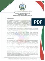 Decreto Gobierno La Paz