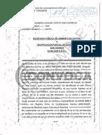 SELLO Escrituras Públicas de Ocho Sur