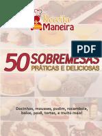 50 Sobremesas Práticas e Deliciosas