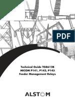 P140 Manual - TG8612B
