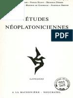 Hadot - L'être et l'etant dans le neoplatonisme (Hiparxis, ousia e hipóstasis)