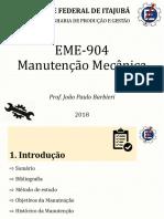 Aula 01 - EME904