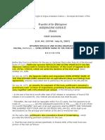 Calina vs DBP