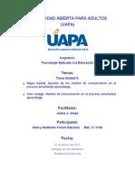 Tarea Unidad II. Los aportes de los medios de comunicacion al proceso ensenanza aprendizaje..docx
