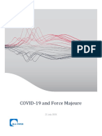 COVID-19 Responses to Force Majeure(5208584.1)