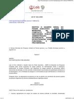 Lei 864 2006 - Plano de Cargos e Salários