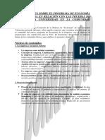 Nuevo Programa economia Empresa 29-04-2009
