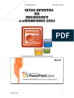 MANUAL POWERPOINT 2003