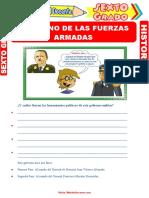Gobierno-de-las-Fuerzas-Armadas-para-Sexto-Grado-de-Primaria