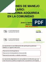TEMA 4.-INFECCIONES DE MANEJO HOSPITALARIO
