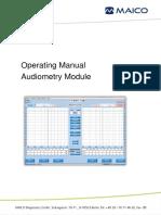 Audiometry Module EN