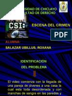 ESCENA DEL CRIMEN -1
