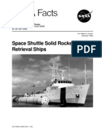 NASA Facts Space Shuttle Solid Rocket Booster Retrieval Ships 1999