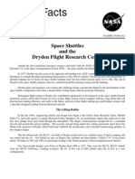 NASA Facts Space Shuttles and the Dryden Flight Research Center 1995