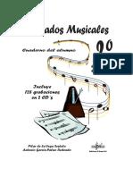 Dictados Musicales. Incluye 128 grabaciones en 2 CD s. Cuaderno del alumno. Enseñanza Elemental. Pilar de la Vega Sestelo Antonio García-Palao Redondo.pdf