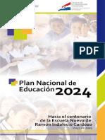 Plan de Educación 2024
