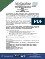 Evaluación Distancia ÉTICA 2020-2