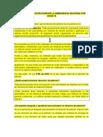 DERECHO DE PETICIÓN DURANTE LA EMERGENCIA SANITARIA POR COVID 19