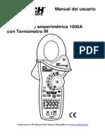 Manual Extech 830