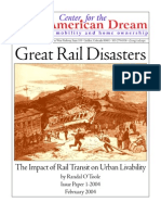 Great Rail Disasters