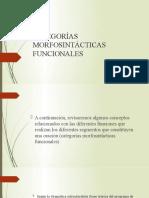 CATEGORÍAS MORFOSINTÁCTICAS FUNCIONALES.pptx