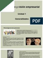 Liderazgo y visión empresarial