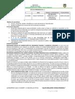 GUIA DE APRENDIZAJE No. 2  GASTO ENERGETICO