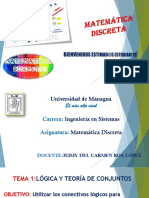 Matemática Discreta. Clase-1