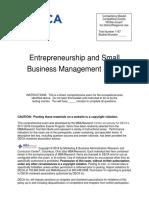 HS_Entrepreneurship_Sample_Exam_2018