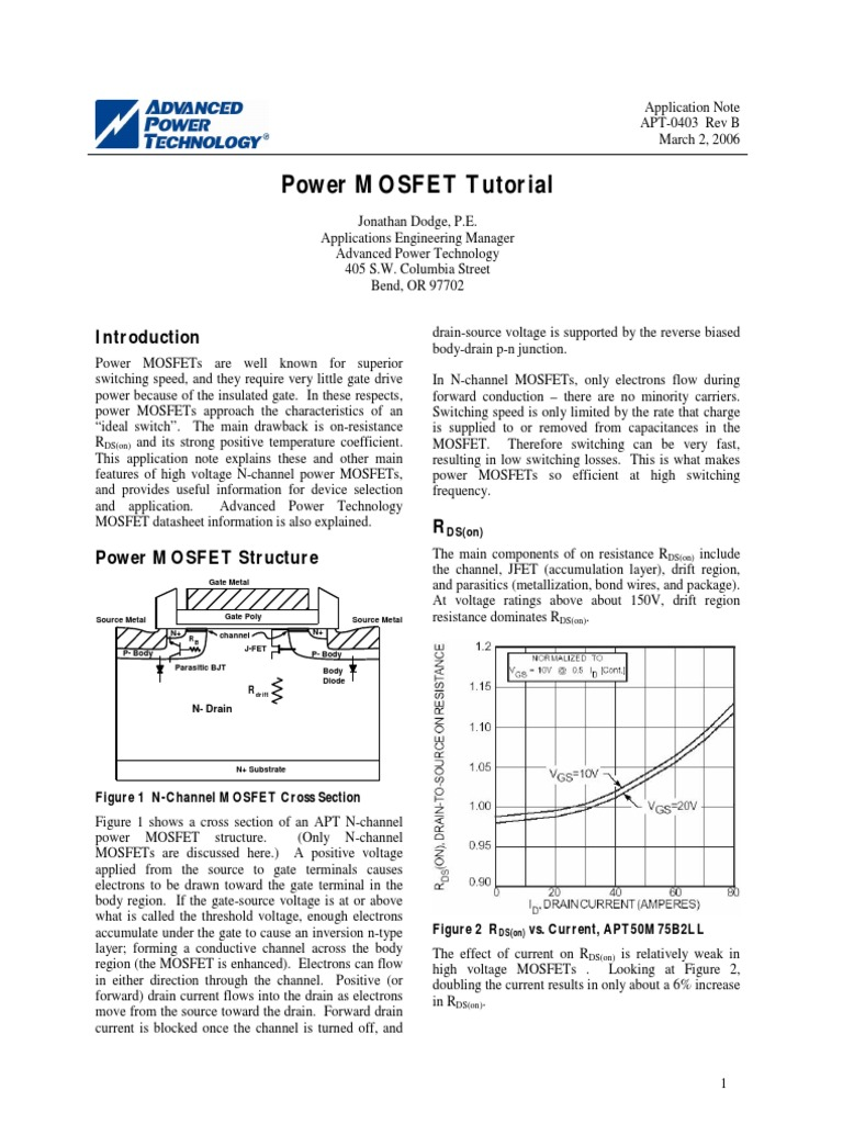 Power Mosfet Explanation Field Effect Transistor The N Type Irf3205s Can Be Replaced With Different Types Of