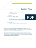 lesson plan overview
