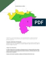 Conjuntos regionales de Venezuela en base a su relieve