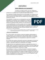Resumen Historia I - Joaquín Martinez 2020