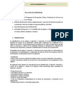 GUIA DE APRENDIZAJE # 3 -Identificación de peligros, evaluación y valoracion de los riesgos