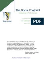 The Social-Footprint