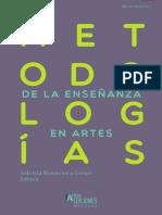 2018 Rivadeneira Metodologías de la enseñanza en artes