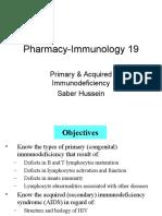 Pharm Immuno19 Immunodeficiency