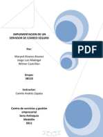 Manual de Servidor de Correo Exchange