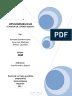 Manual de Servidor de Correo Exchange