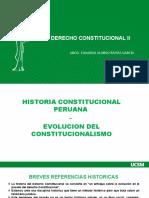 CLASE 1F- HISTORIA CONSTITUCIONAL PERU  -  CONSTI II - ERG.pptx
