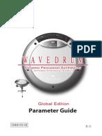 Korg Wavedrum Parameter Guide