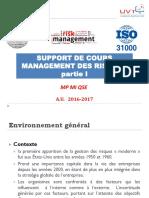 Support  de cours Management des risques  03 10 16