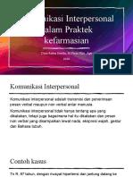 01.Komunikasi Interpersonal dalam Praktek kefarmasian