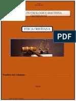 1. ETICA CRISTIANA I