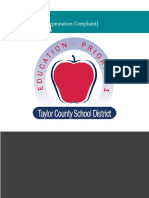 New report finds racial discrimination in hiring process within Taylor County school district