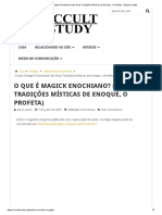 O que é Magick Enochiano_ (As Duas Tradições Místicas de Enoque, o Profeta) - Estudo Oculto