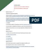 EJERCICIOS DE AUTOEVALUACIÓN UNIDAD I