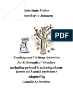 1st Booklet of Substitute Materials